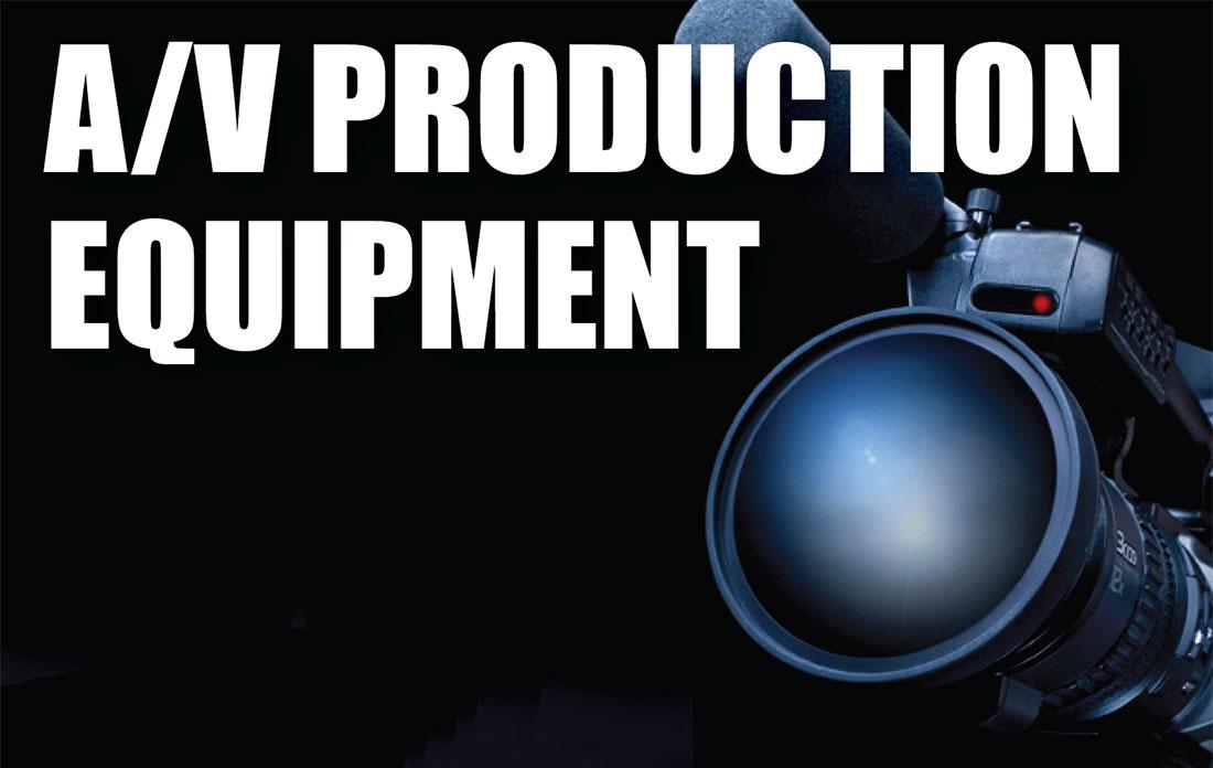 av production equipment asset appraisals