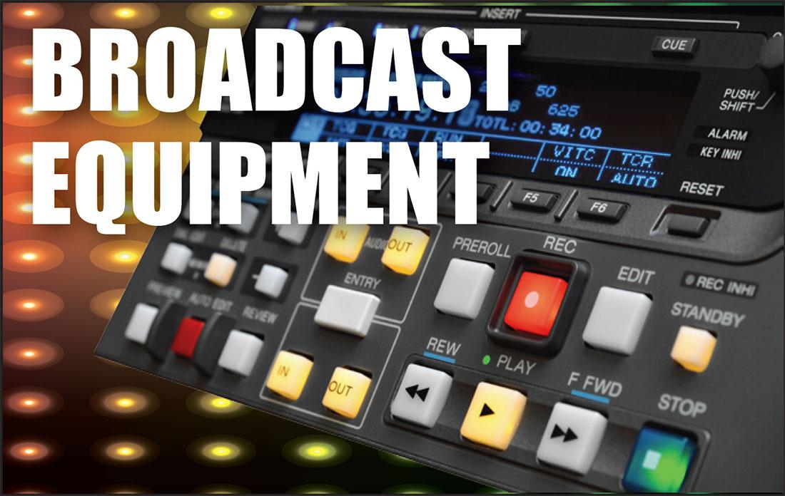 broadcast equipment asset appraisals, tv, film, video, camera, lighting, accessories appraisal