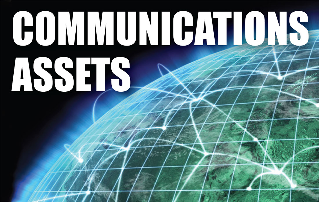 communications industry asset appraisals
