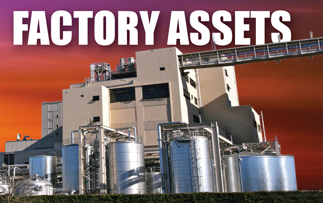 Factory, Industrial Asset Appraisals and Valuations