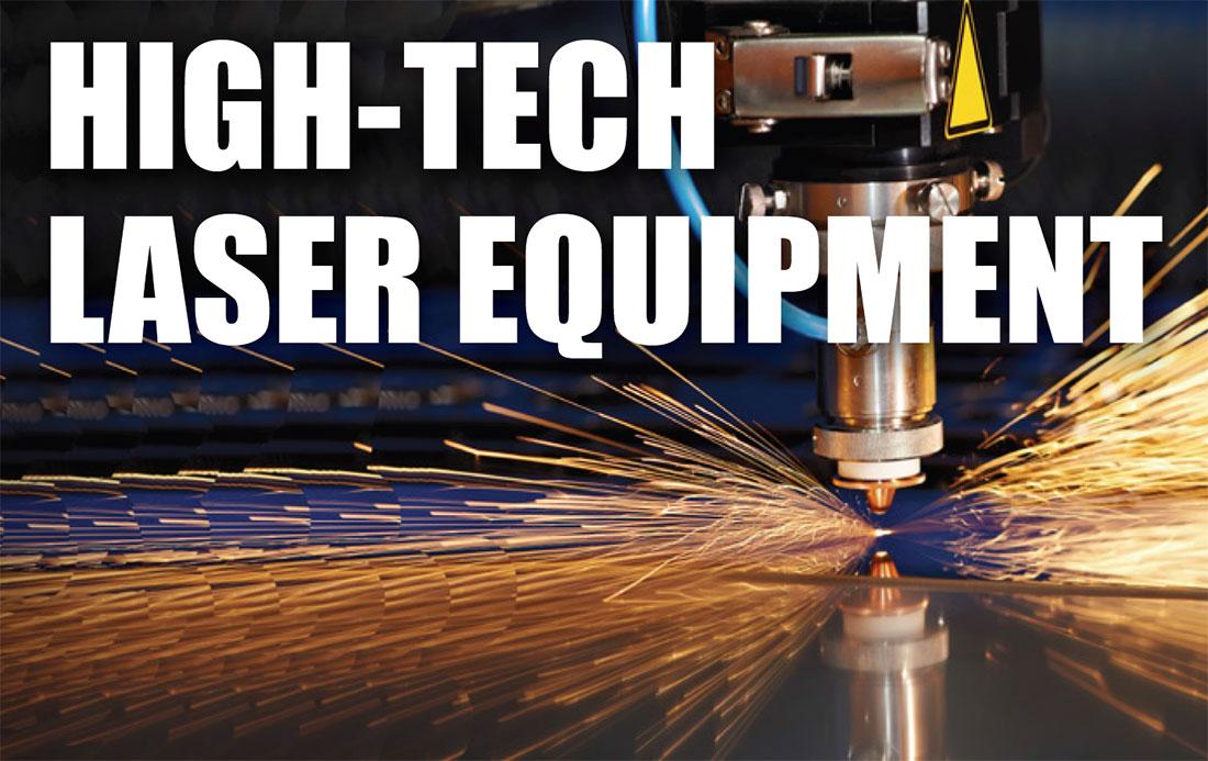 high-tech laser equipment asset appraisals