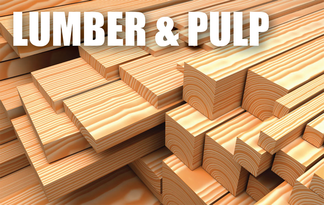 lumber and pulp industry asset appraisals