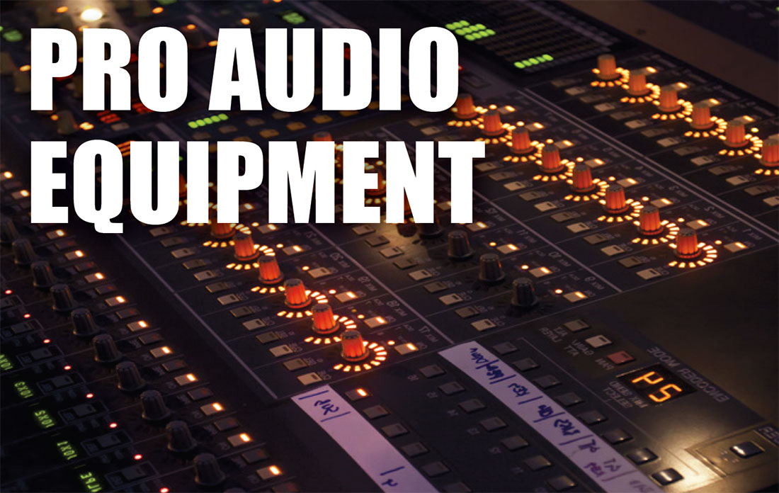 pro audio equipment asset appraisals and valuations