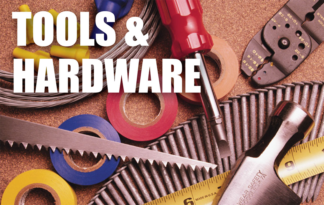 tools and hardware inventory appraisals