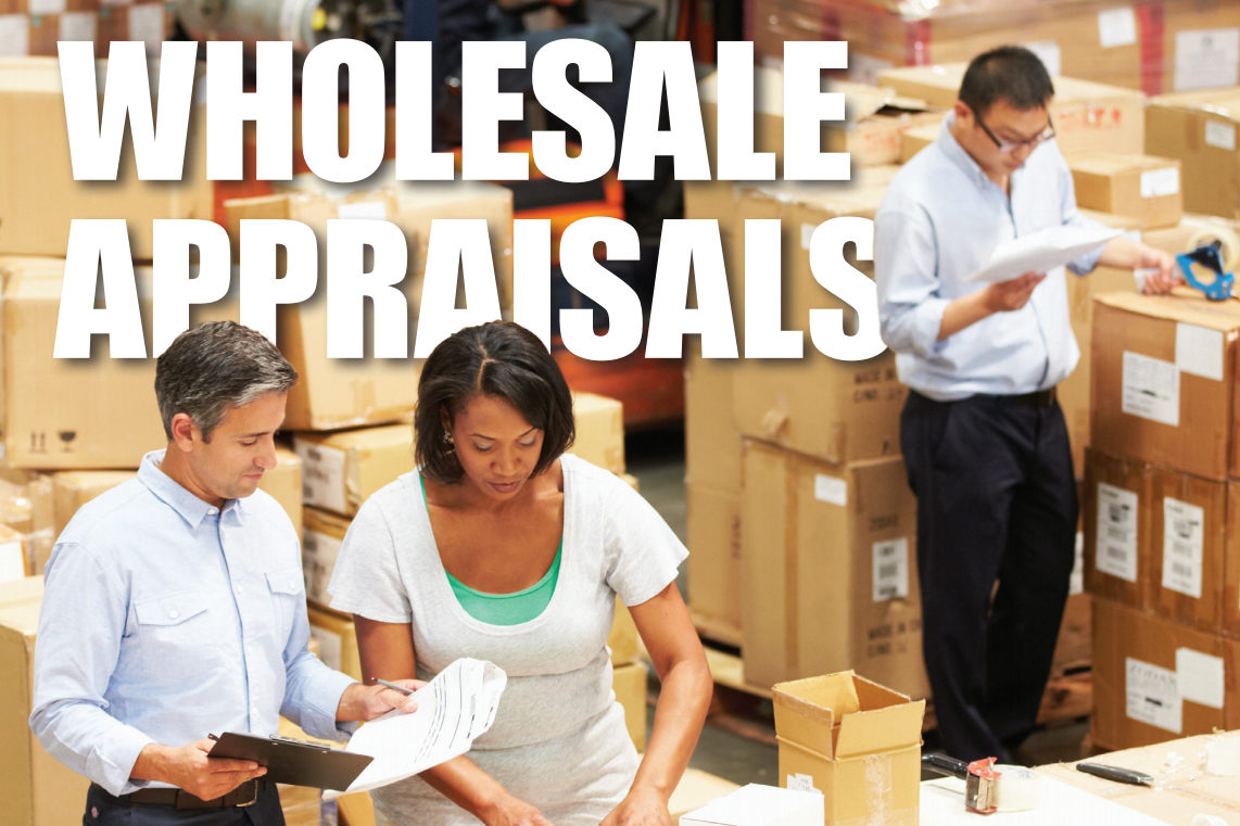 wholesale appraisals