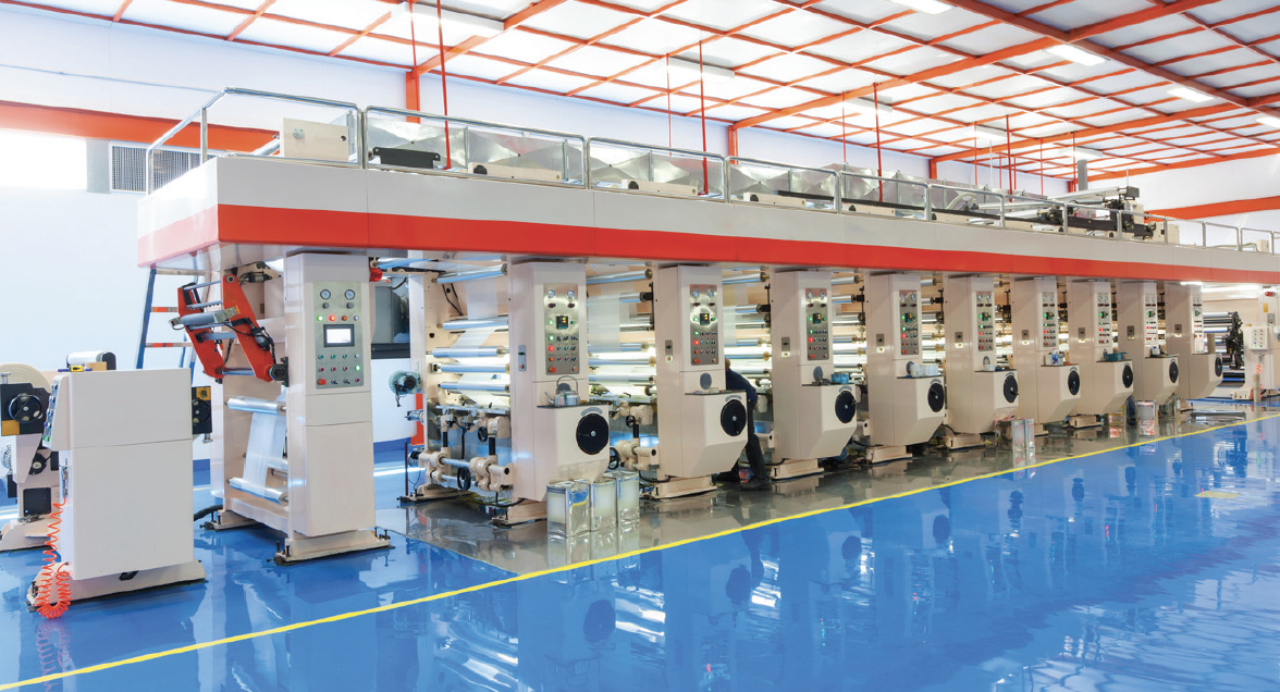 Printpack Printing: Machinery & Equipment from 260,000 sf Manufacturing Plant
