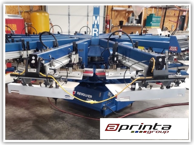 Tiger Group Online Auction Features Equipment for Screen Printing and Premium Promotional Manufacturing